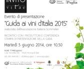 Presentazione della Guida ai Vini d'Italia dell'Associazione Italiana Sommelier